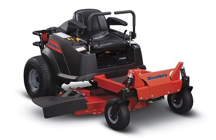 2013 Simplicity ZT2500 Zero Turn Mower in Beaver Dam, Wisconsin