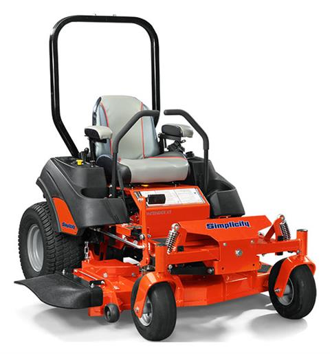 2019 Simplicity Contender 25/61 in. Zero Turn Mower in Fond Du Lac, Wisconsin