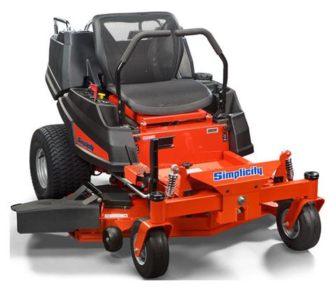 2019 Simplicity Courier 21.5/52 in. Zero Turn Mower in Jackson, Missouri