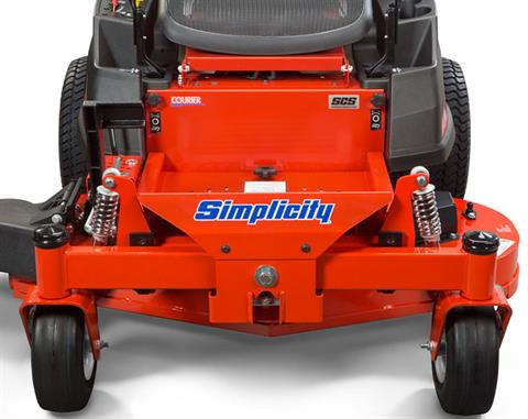 2019 Simplicity Courier 23/44 in. (2691502) Zero Turn Mower in Glasgow, Kentucky - Photo 3