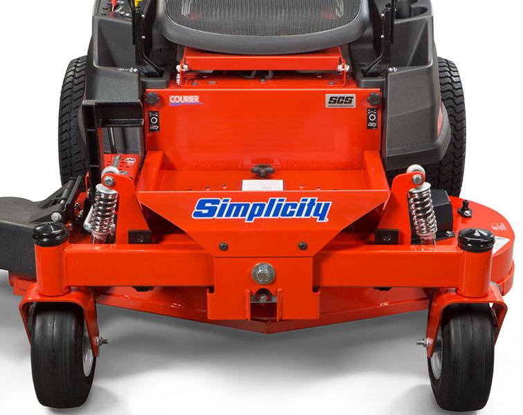 2019 Simplicity Courier 23/48 in. Zero Turn Mower in Glasgow, Kentucky - Photo 3