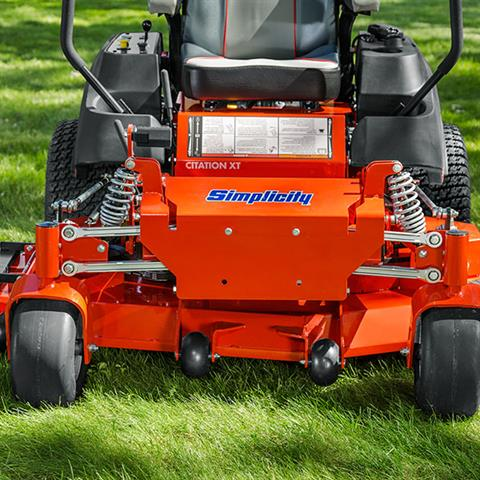 2020 Simplicity Citation XT 61 in. Briggs & Stratton 27 hp in Lafayette, Indiana - Photo 5