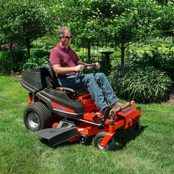 2020 Simplicity Courier 42 in. Briggs & Stratton 23 hp in Lafayette, Indiana - Photo 5