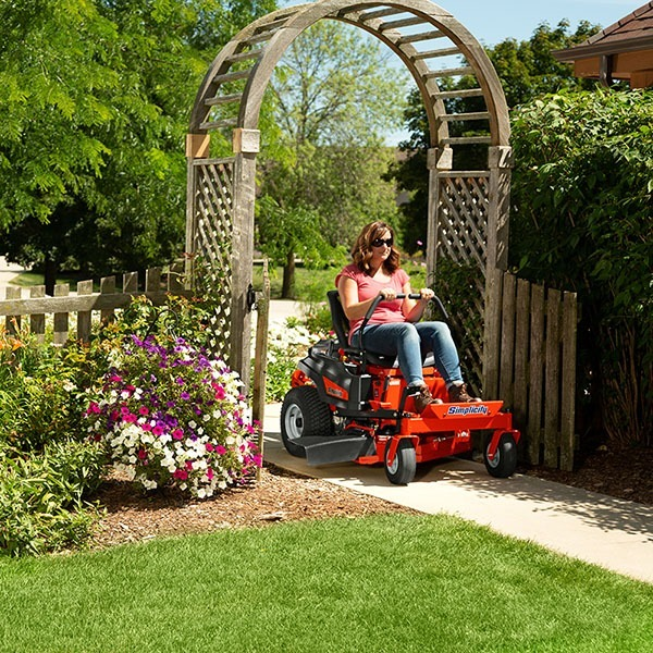 2020 Simplicity Courier 42 in. Briggs & Stratton 23 hp in Lafayette, Indiana - Photo 8
