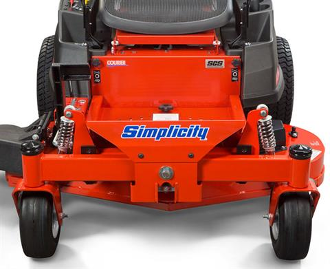2020 Simplicity Courier 44 in. Briggs & Stratton V-Twin 23 hp in Glasgow, Kentucky - Photo 4