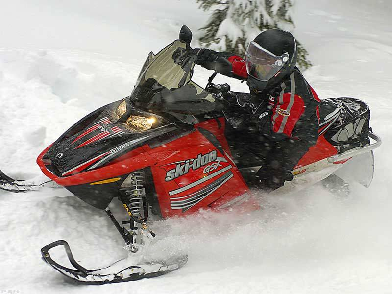 2006 Ski-Doo GSX Fan 380 in Unity, Maine - Photo 4