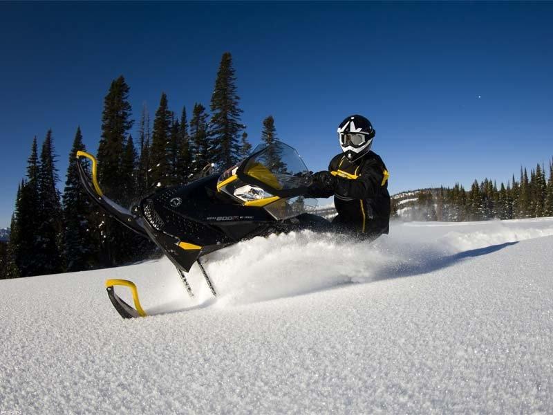2013 Ski-Doo Renegade Adrenaline E-TEC 800R 4