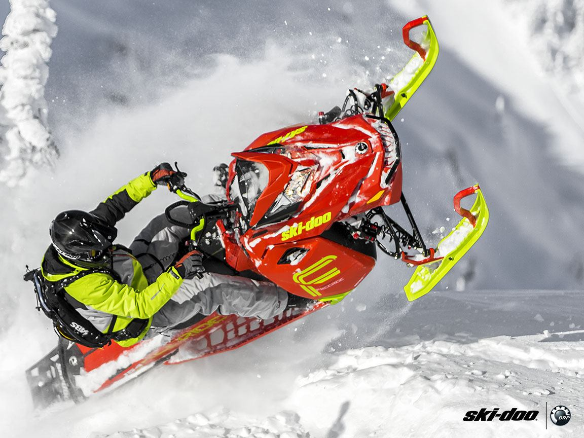 "2016 Ski-Doo Freeride 154 800R E-TEC E.S., PowderMax 2.5"" in Dickinson, North Dakota"