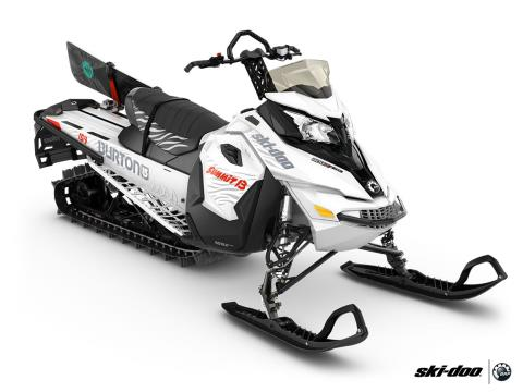 "2016 Ski-Doo Summit Burton 154 800R E-TEC, PowderMax 2.5"" in Roscoe, Illinois"