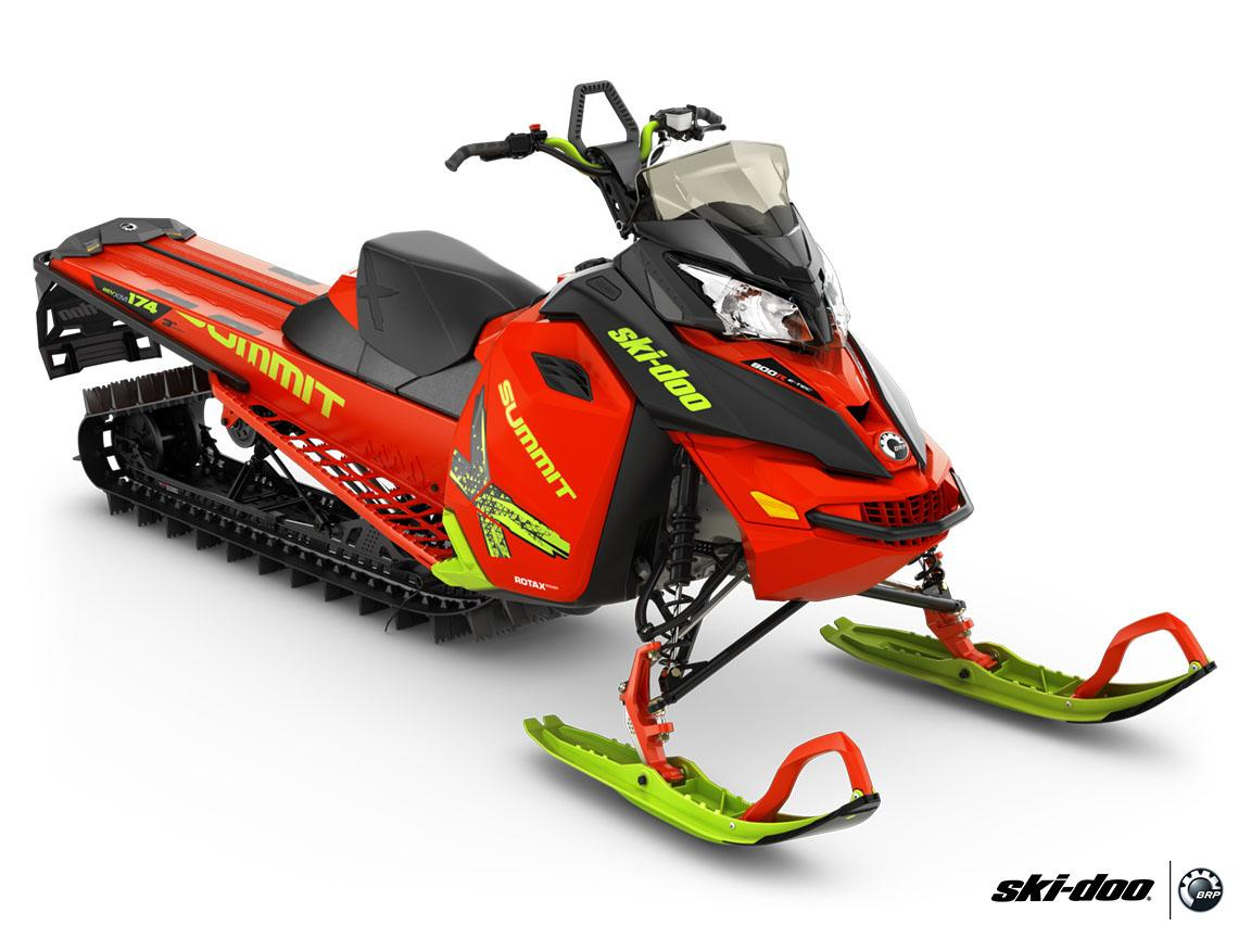 "2016 Ski-Doo Summit X T3 163 800R E-TEC E.S., PowderMax 3.0"" in Dickinson, North Dakota"