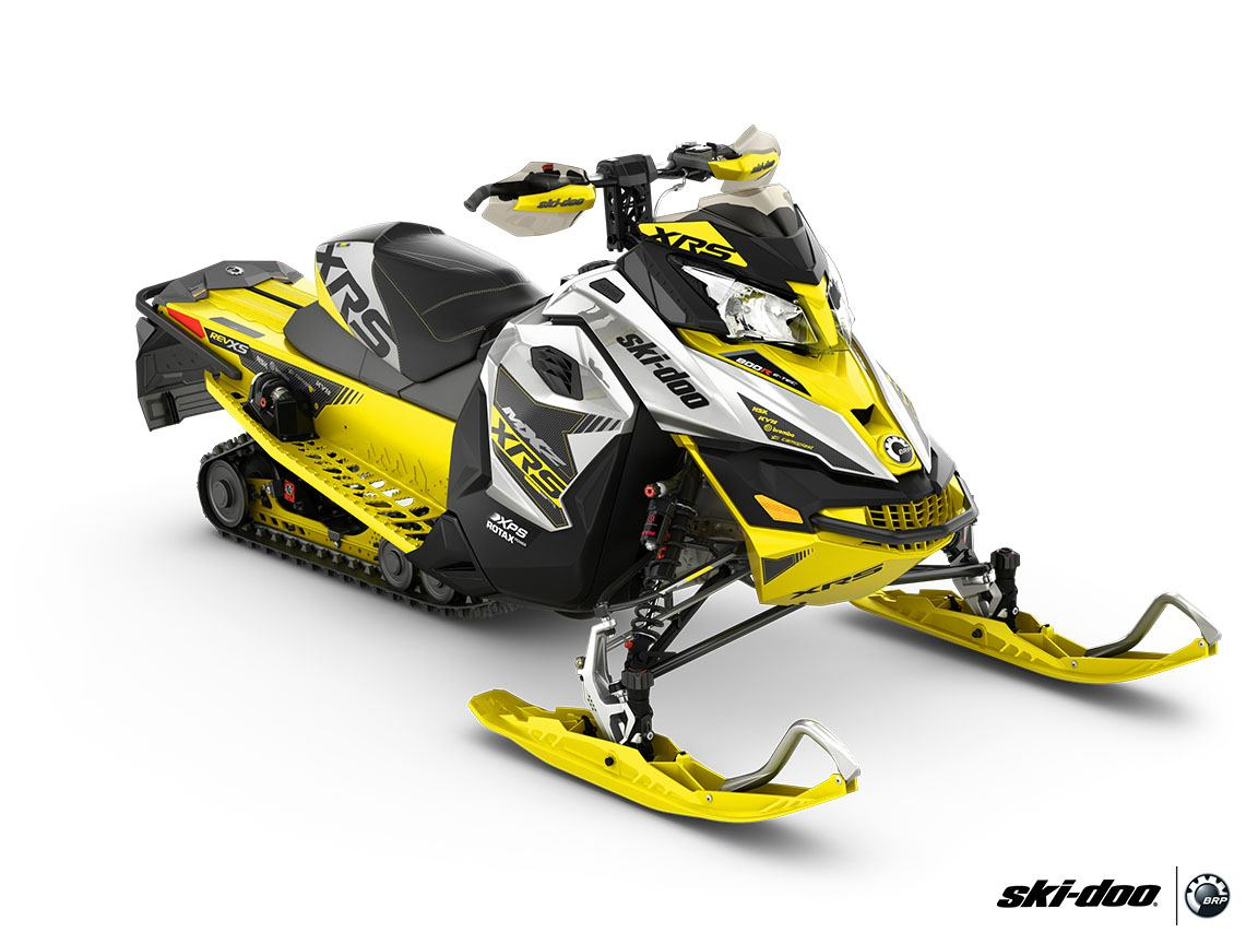 2016 Ski-Doo MX Z X-RS 800R E-TEC E.S., Ripsaw in Boonville, New York