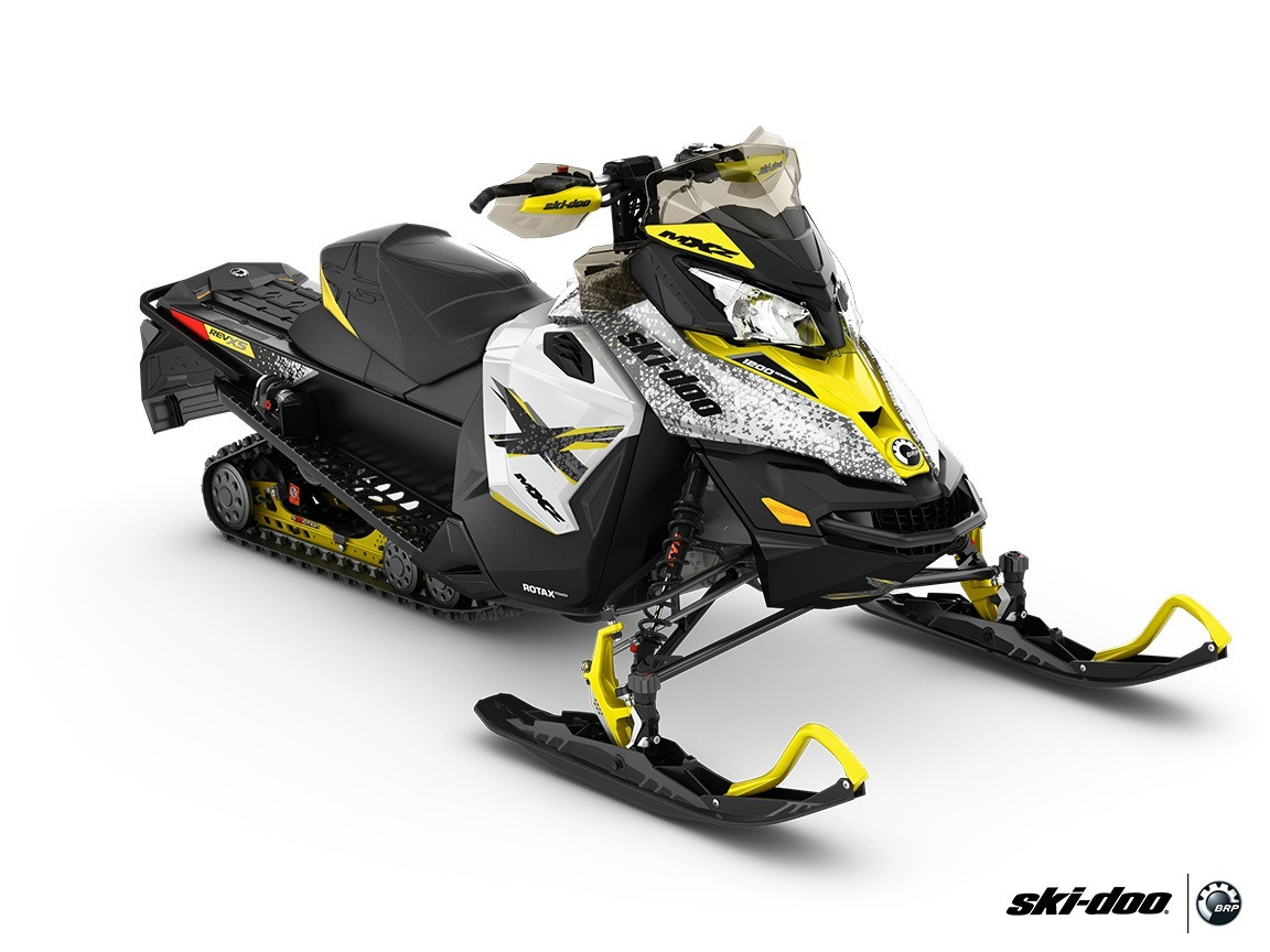2016 Ski-Doo MX Z X 1200 4-TEC E.S., Ice Ripper XT in Boonville, New York - Photo 1