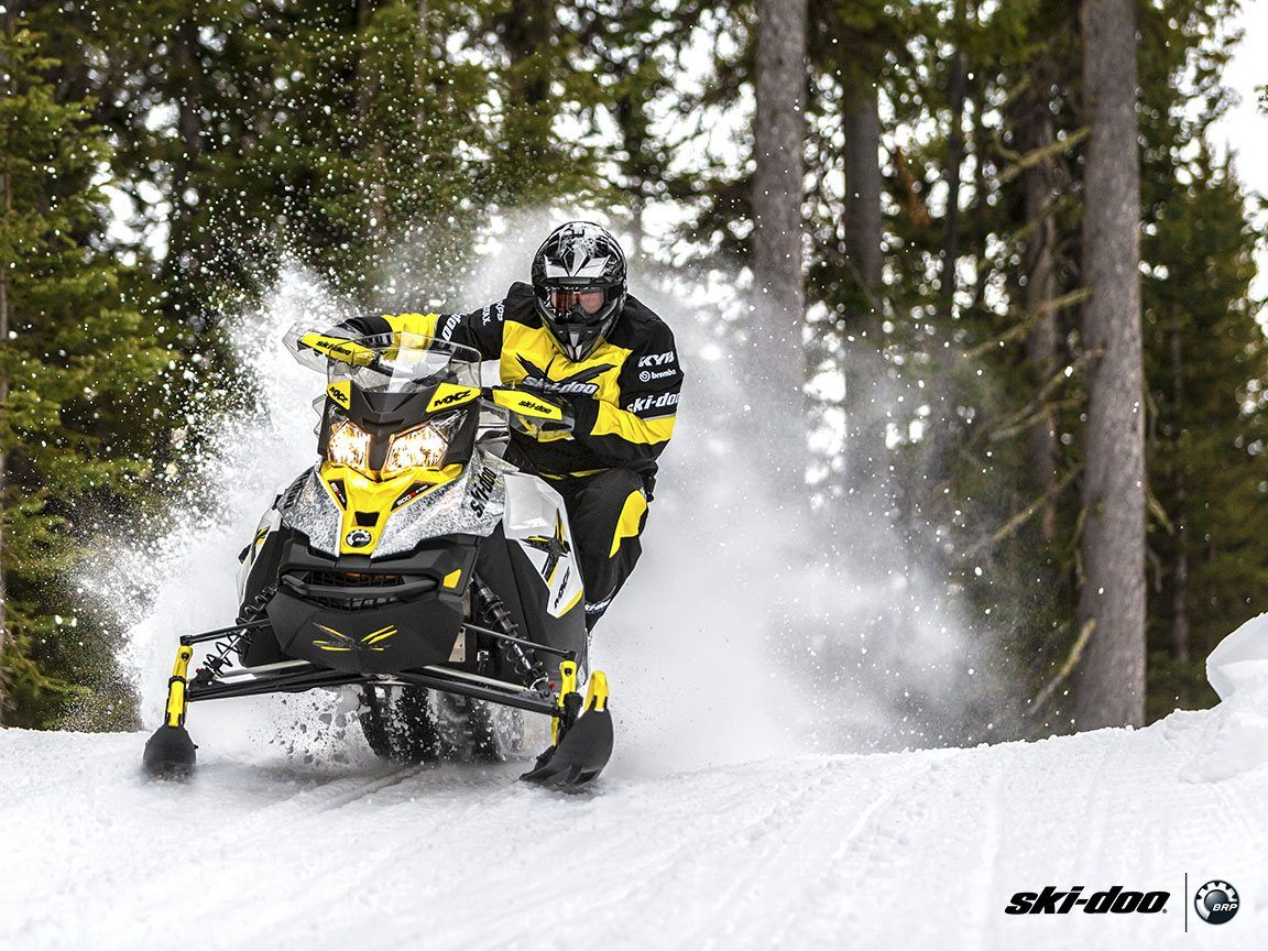 2016 Ski-Doo MX Z X 1200 4-TEC E.S., Ice Ripper XT in Boonville, New York - Photo 3