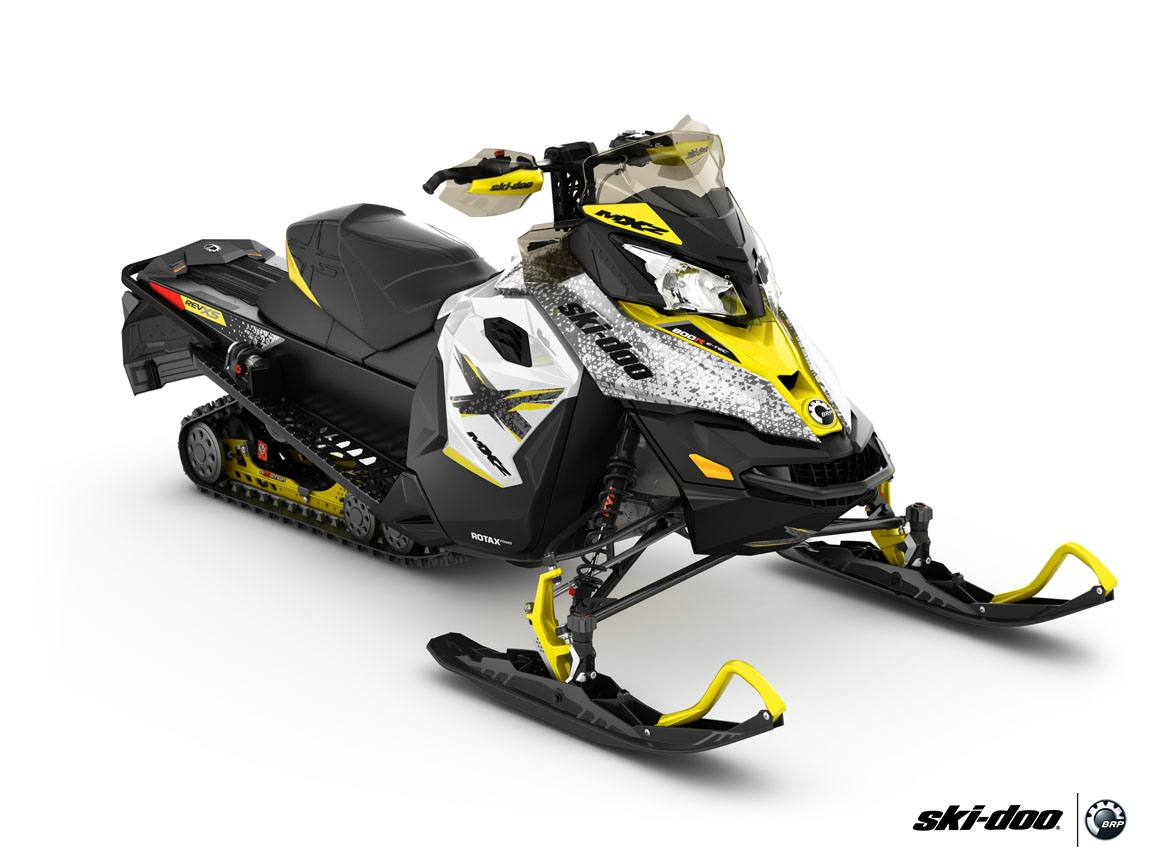 2016 Ski-Doo MX Z X 600 H.O. E-TEC E.S.  w/ Adj. pkg, Ice Ripper XT in Dickinson, North Dakota