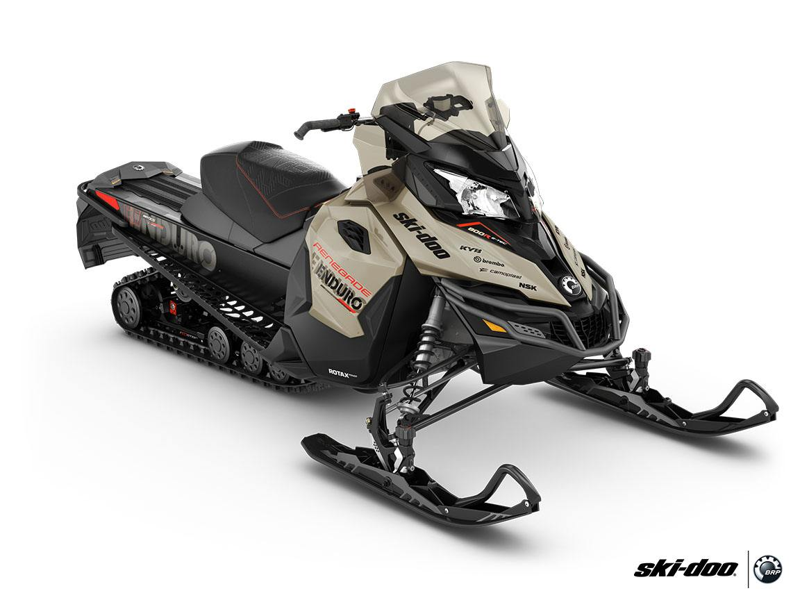 2016 Ski-Doo Renegade Enduro 600 H.O. E-TEC ES in Cherry Creek, New York - Photo 1