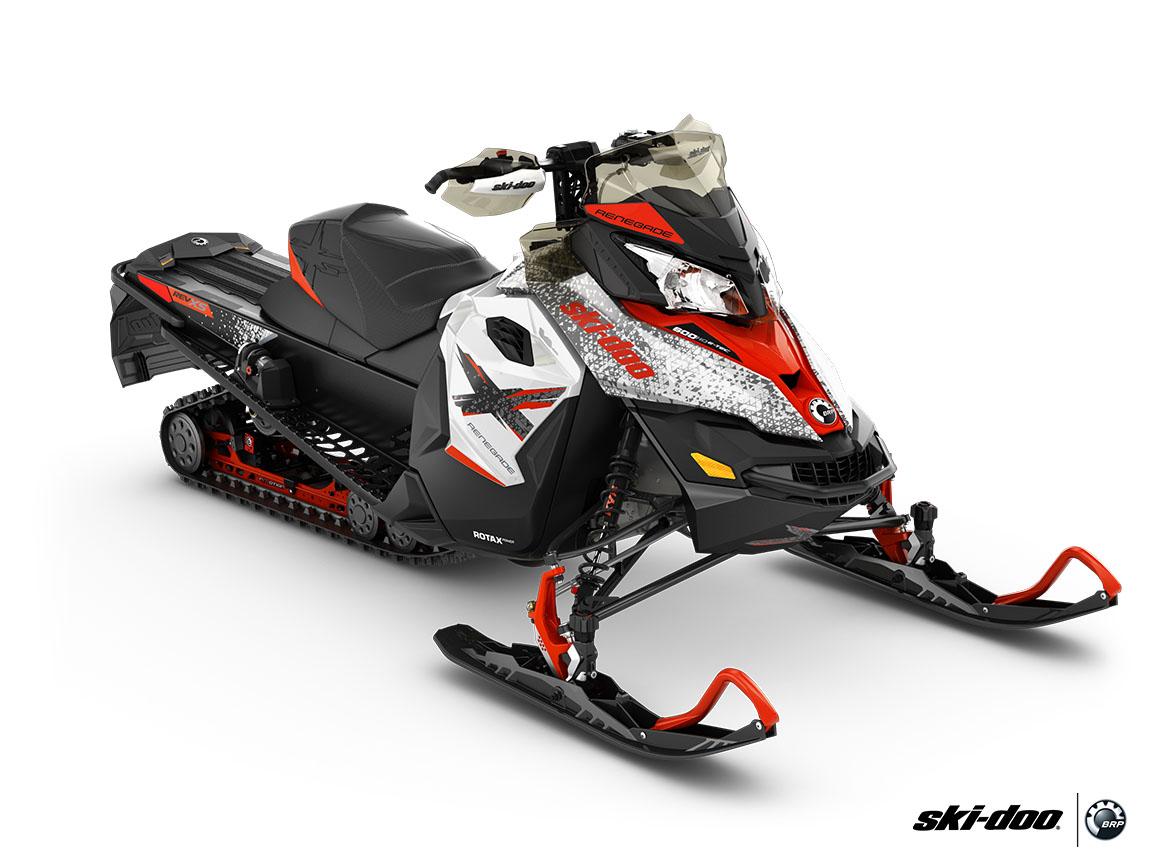 2016 ski doo renegade x 600 h o e tec es ice ripper xt snowmobiles roscoe illinois uagg. Black Bedroom Furniture Sets. Home Design Ideas