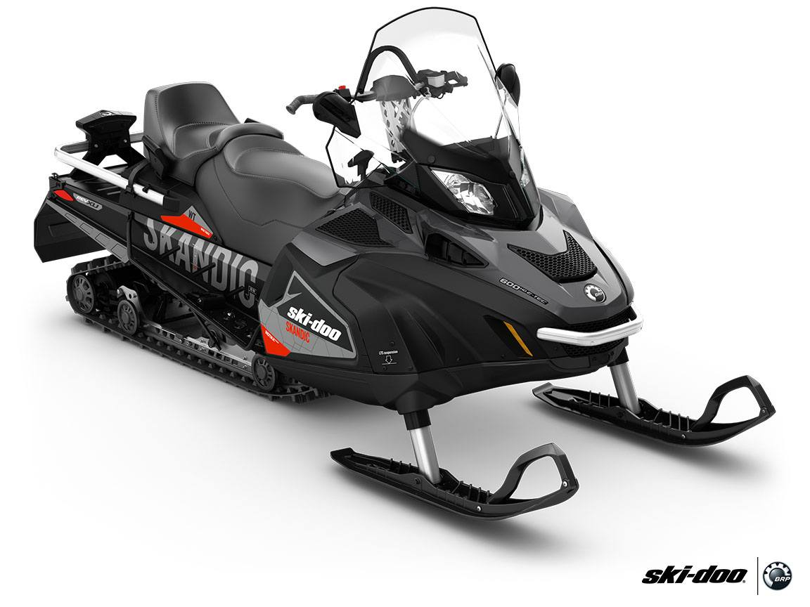 2016 Ski-Doo Skandic WT 600 H.O. E-TEC E.S. in Dickinson, North Dakota