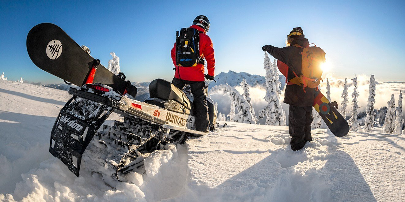 "2017 Ski-Doo Summit Burton 154 800R E-TEC E.S., PowderMax 2.5"" in Salt Lake City, Utah"