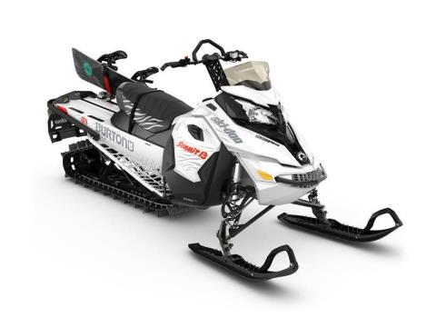 2017 Ski-Doo Summit Burton 154 800R E-TEC, PowderMax 2.5