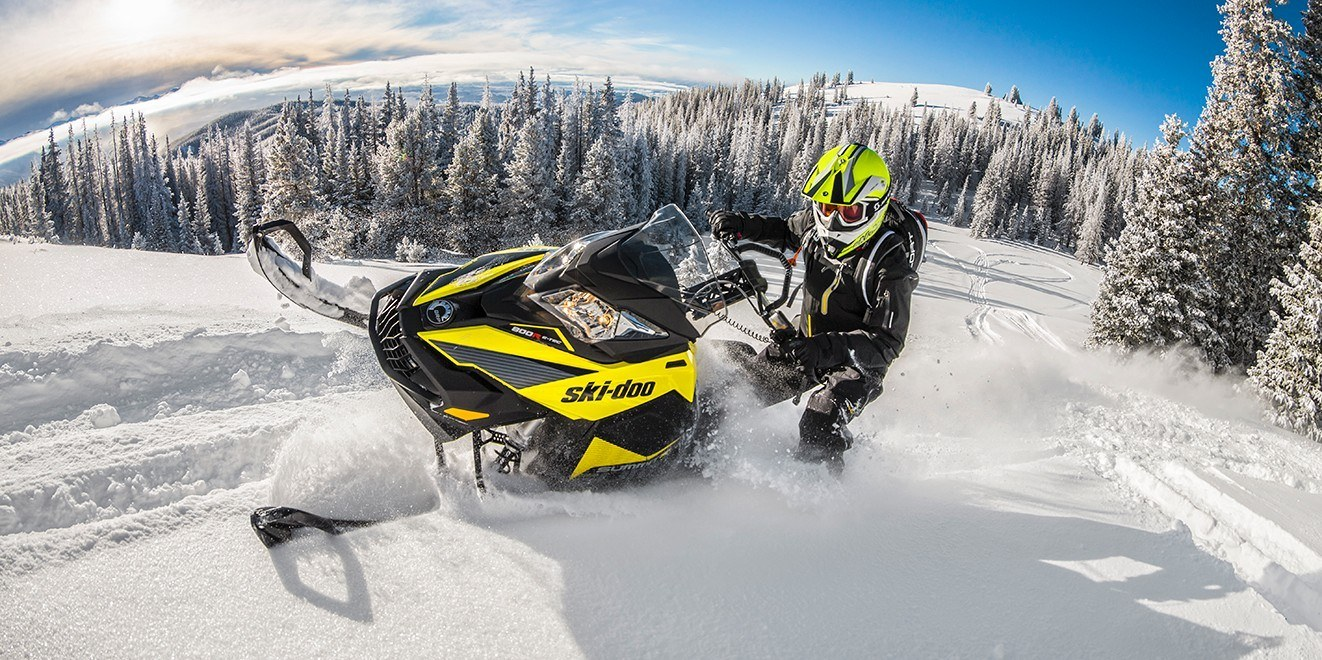 "2017 Ski-Doo Summit SP 154 600 H.O. E-TEC, PowderMax 2.5"" in Salt Lake City, Utah"