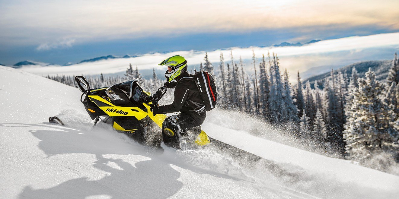 "2017 Ski-Doo Summit SP 154 600 H.O. E-TEC, PowderMax 2.5"" in Augusta, Maine"