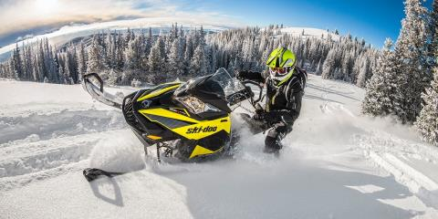 "2017 Ski-Doo Summit SP 174 800R E-TEC, PowderMax 3.0"" in Bozeman, Montana"