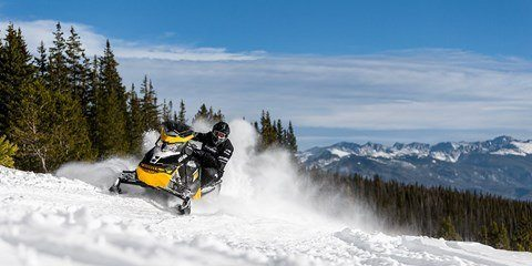 2017 Ski-Doo MXZ Blizzard 600 H.O. E-TEC in Colebrook, New Hampshire