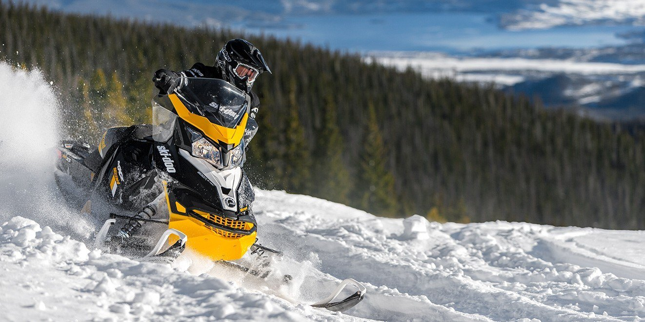 2017 Ski-Doo MXZ Blizzard 600 H.O. E-TEC in Speculator, New York