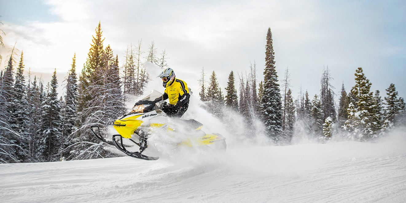 2018 Ski-Doo MXZ TNT 129 600 HO E-TEC ES Ripsaw 1.25 S_LEV in Moses Lake, Washington