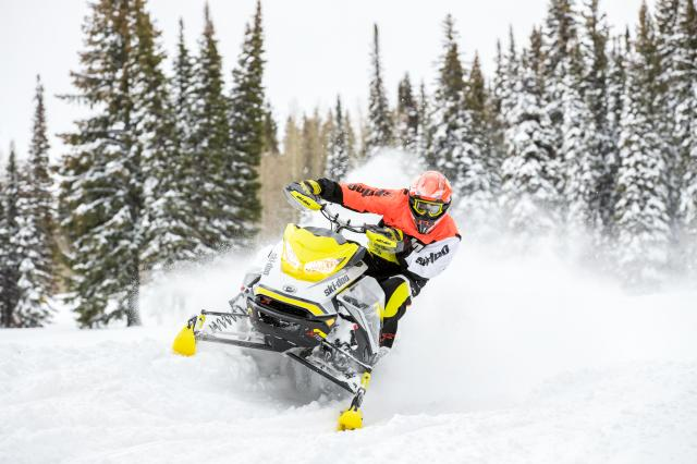 2017 Ski-Doo MXZ X-RS 800R E-TEC w/ Adj. Pkg. Ice Ripper XT in Clarence, New York