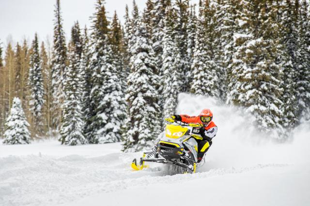 2017 Ski-Doo MXZ X-RS 800R E-TEC w/ Adj. Pkg. Ice Ripper XT in Pendleton, New York