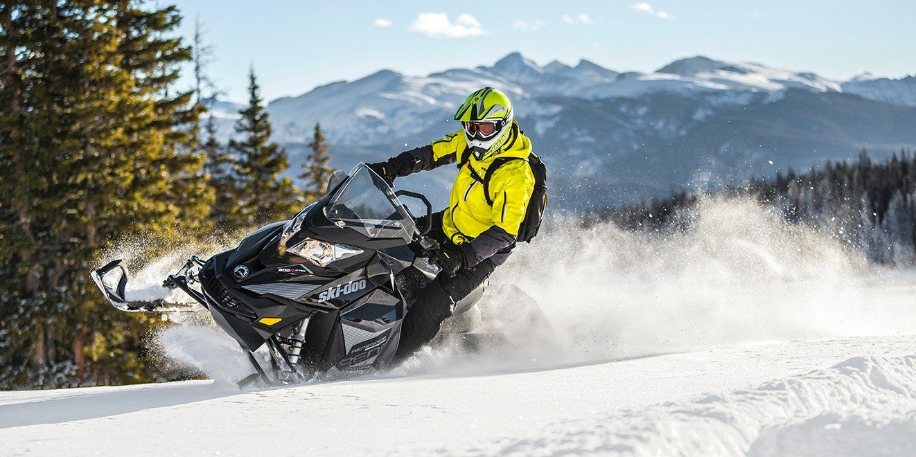 2017 Ski-Doo Renegade Backcountry 600 H.O. E-TEC E.S. in Hotchkiss, Colorado