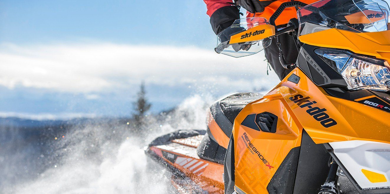 "2017 Ski-Doo Renegade Backcountry X 800R E-TEC Powdermax 2.0"" in Conway, New Hampshire"