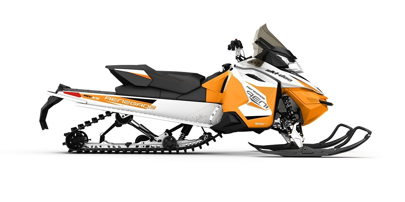 2017 Ski-Doo Renegade Sport 600 ACE E.S. (XS) in Baldwin, Michigan