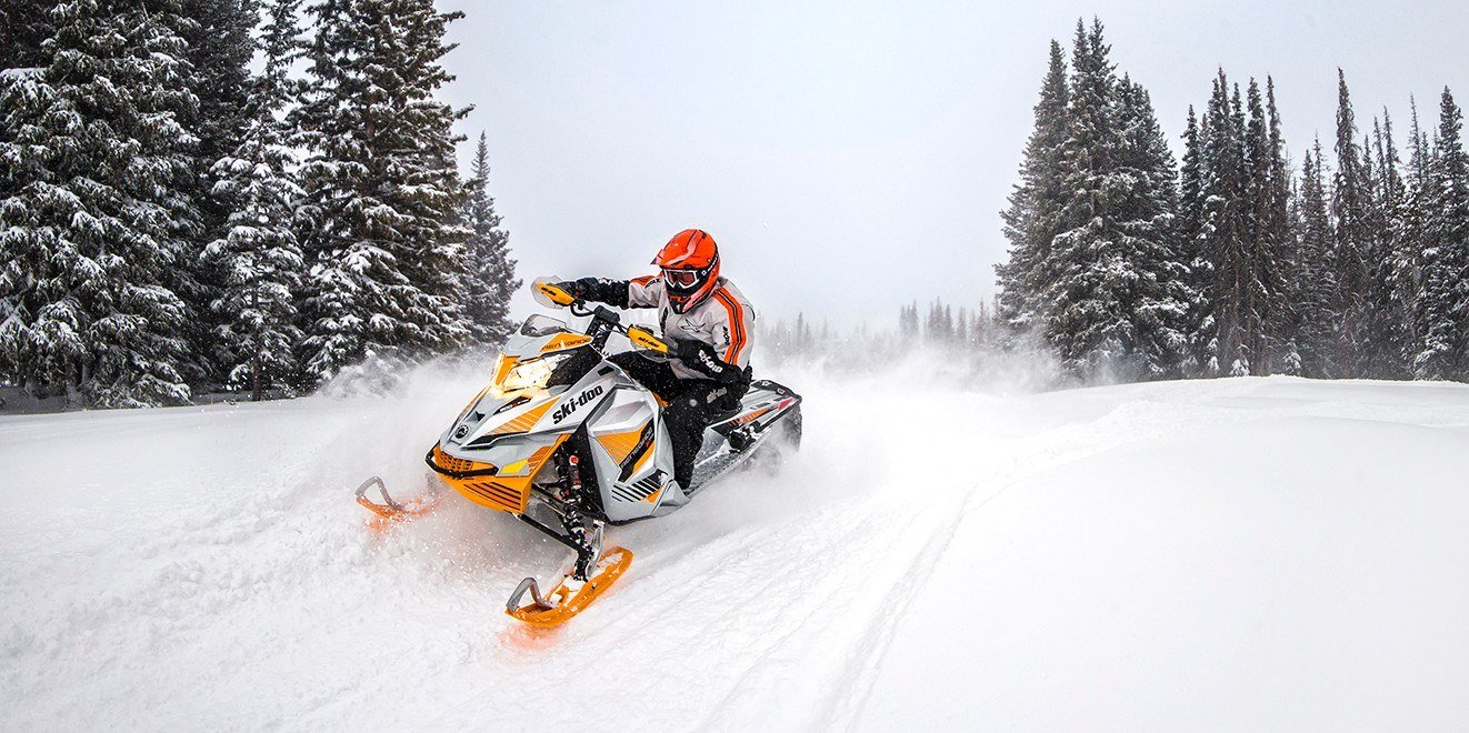 "2017 Ski-Doo Renegade X-RS 800R E-TEC E.S. Ice Cobra 1.6"" in Butte, Montana"
