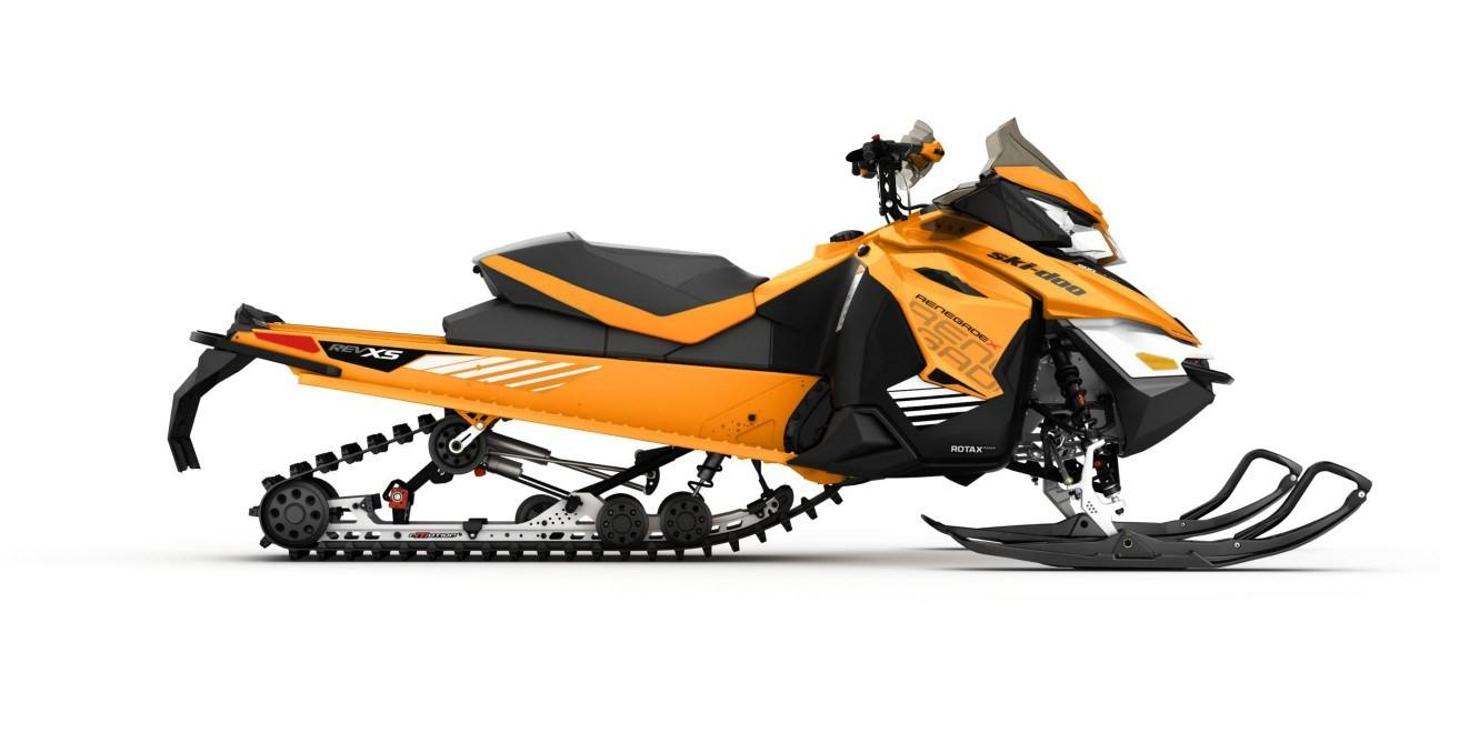 2017 Ski-Doo Renegade X 600 H.O. E-TEC E.S. Ripsaw in Pendleton, New York