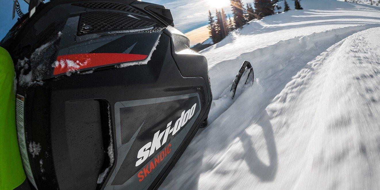 2017 Ski-Doo Skandic WT 600 H.O. E-TEC in Hanover, Pennsylvania