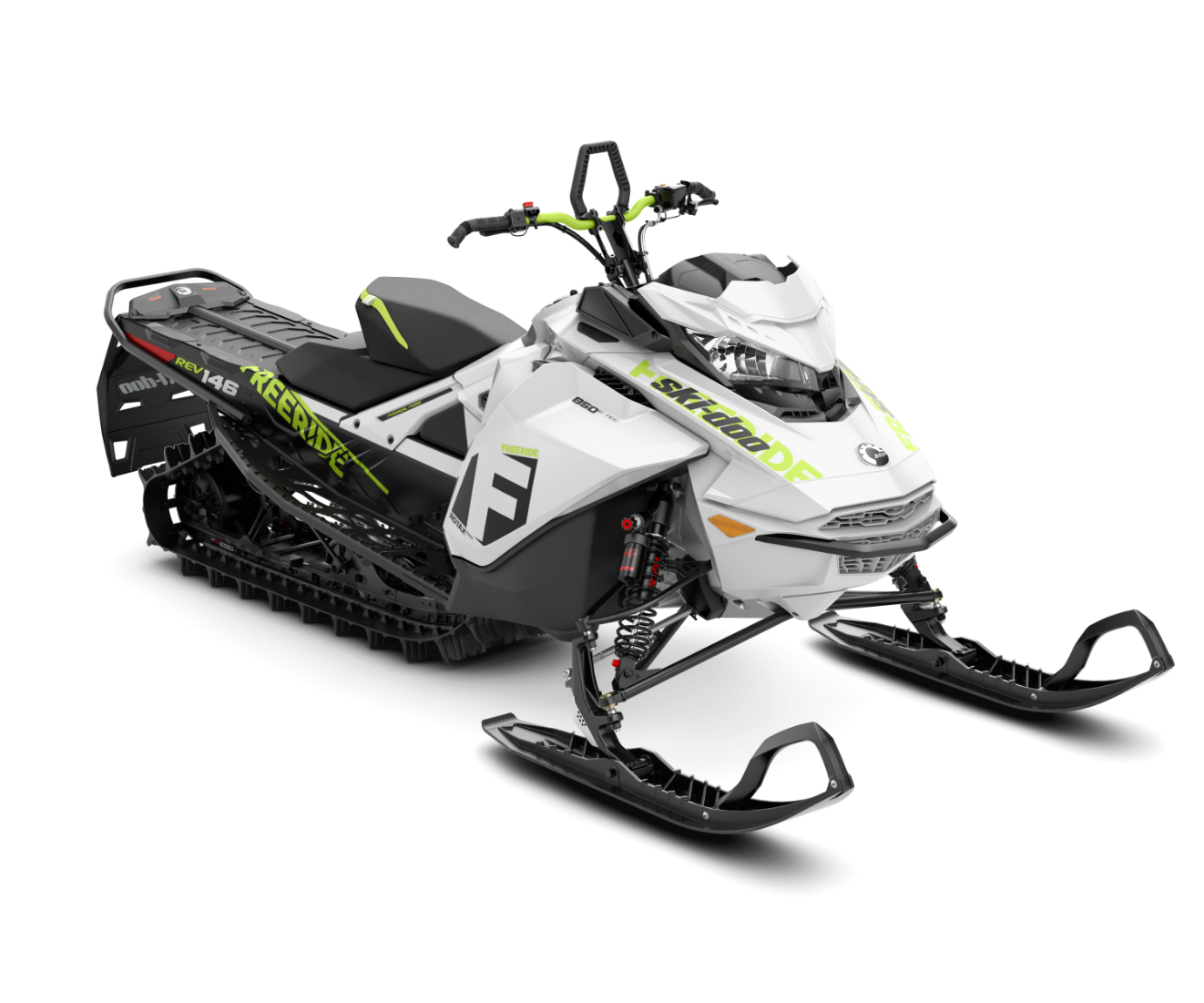 2018 Ski-Doo Freeride 146 850 E-TEC SS S_LEV in Wenatchee, Washington