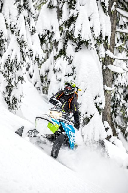 2018 Ski-Doo Freeride 154 850 E-TEC PowderMax 2.5 H_ALT in Baldwin, Michigan