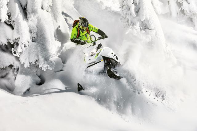 2018 Ski-Doo Freeride 154 850 E-TEC PowderMax 2.5 S_LEV in Colebrook, New Hampshire