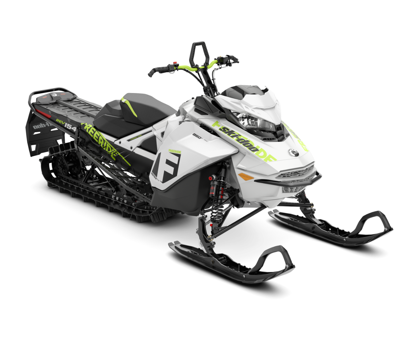 2018 Ski-Doo Freeride 154 850 E-TEC SS PowderMax 2.5 S_LEV in Baldwin, Michigan