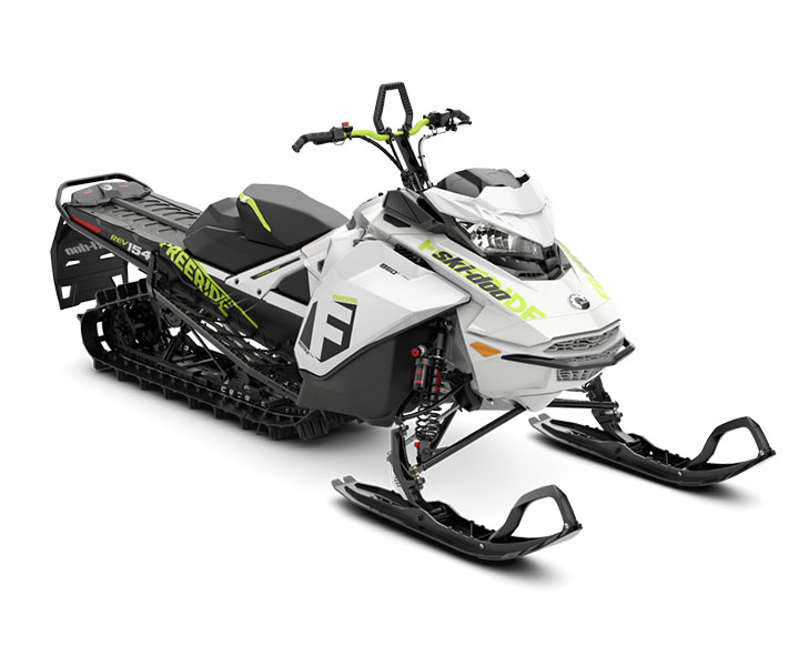 2018 Ski-Doo Freeride 154 850 E-TEC SS PowderMax 2.5 S_LEV in Butte, Montana