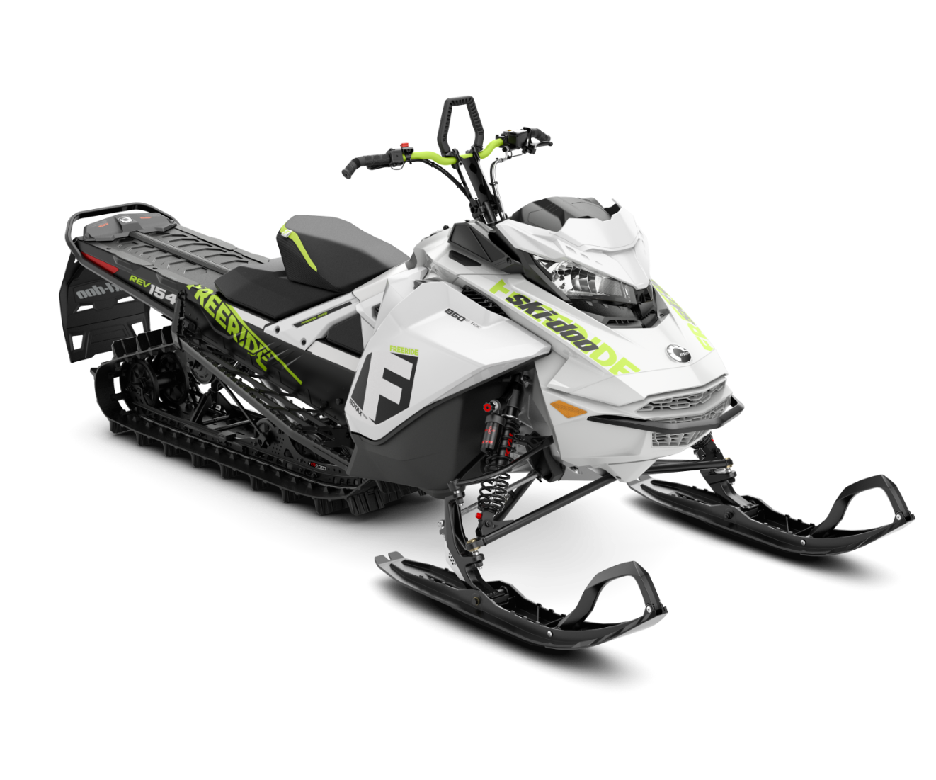 2018 Ski-Doo Freeride 154 S-38 850 E-TEC ES S_LEV in Moses Lake, Washington