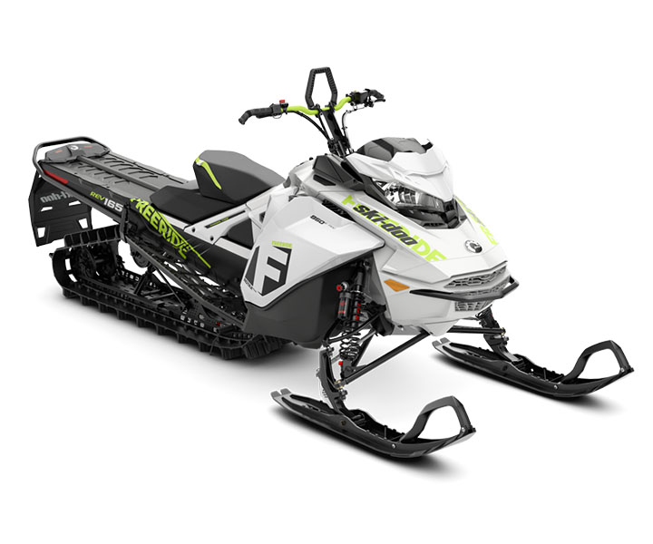 2018 Ski-Doo Freeride 165 850 E-TEC ES PowderMax 2.5 H_ALT in Augusta, Maine