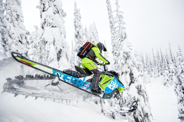 2018 Ski-Doo Freeride 165 850 E-TEC ES PowderMax 2.5 S_LEV in Toronto, South Dakota