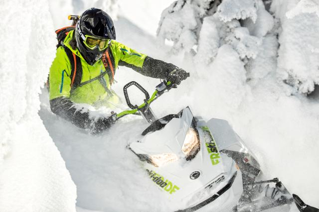 2018 Ski-Doo Freeride 165 850 E-TEC ES PowderMax 2.5 S_LEV in Clinton Township, Michigan