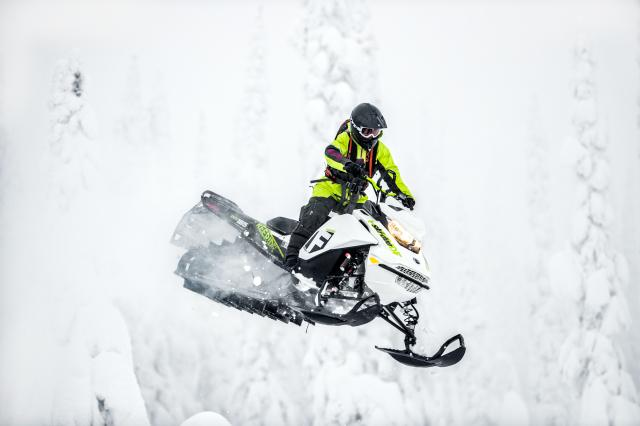 2018 Ski-Doo Freeride 165 850 E-TEC ES PowderMax 3.0 S_LEV in Butte, Montana