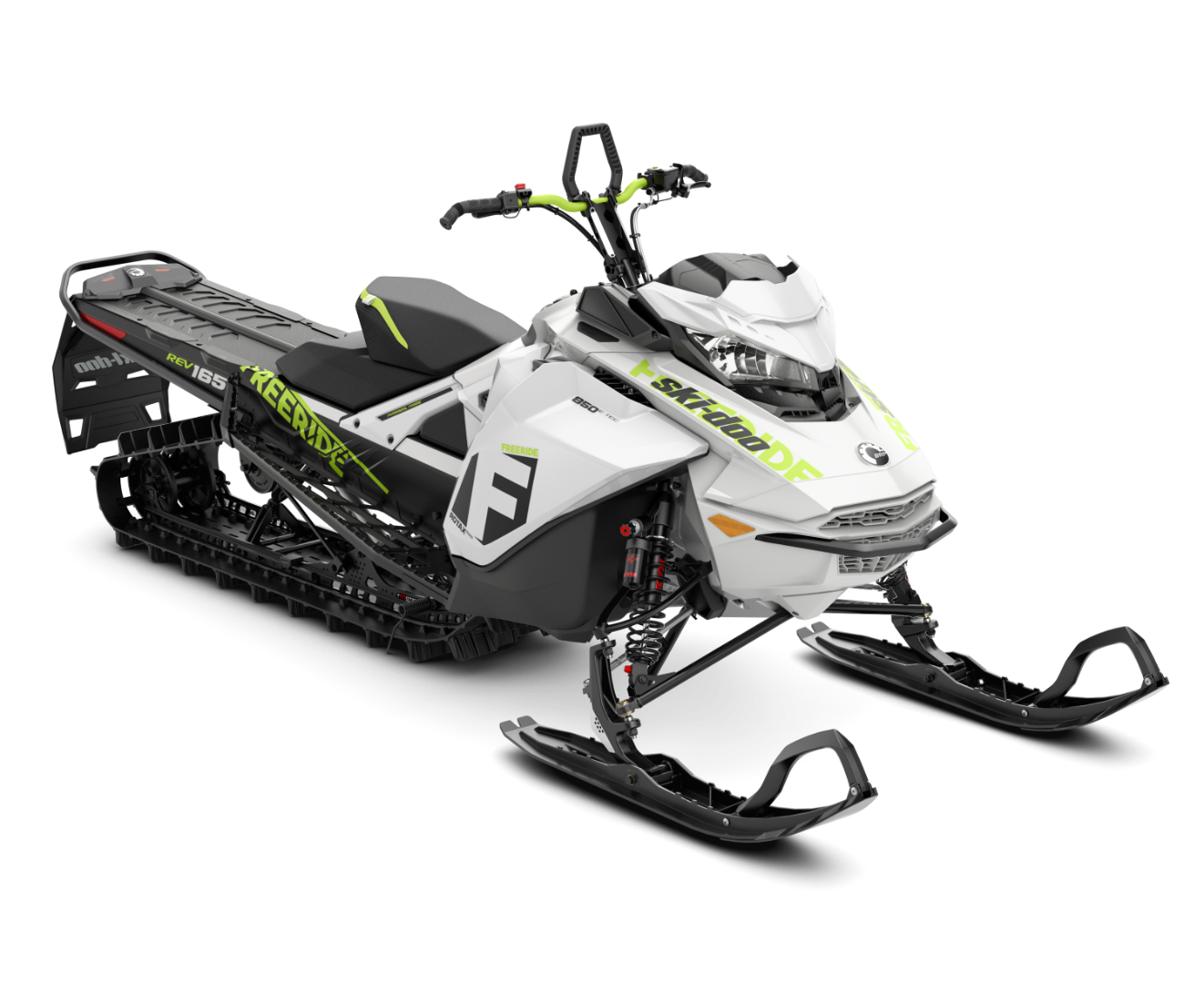 2018 Ski-Doo Freeride 165 850 E-TEC PowderMax 2.5 H_ALT in Colebrook, New Hampshire