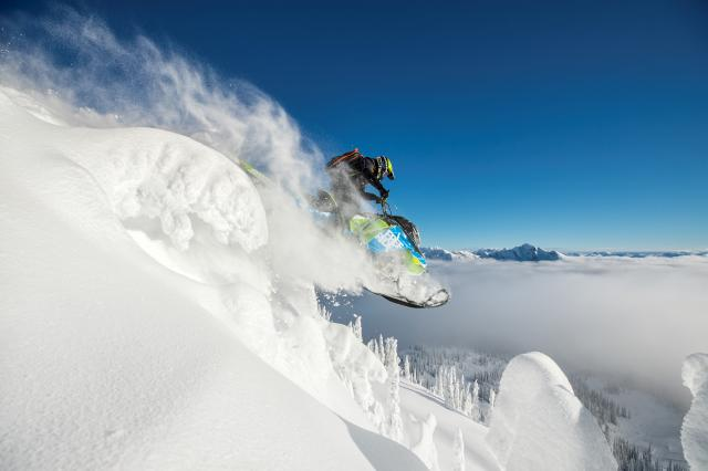 2018 Ski-Doo Freeride 165 850 E-TEC SS PowderMax 2.5 S_LEV in Woodinville, Washington
