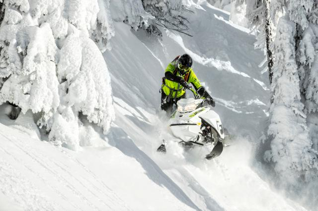 2018 Ski-Doo Freeride 165 850 E-TEC SS PowderMax 2.5 S_LEV in Wenatchee, Washington